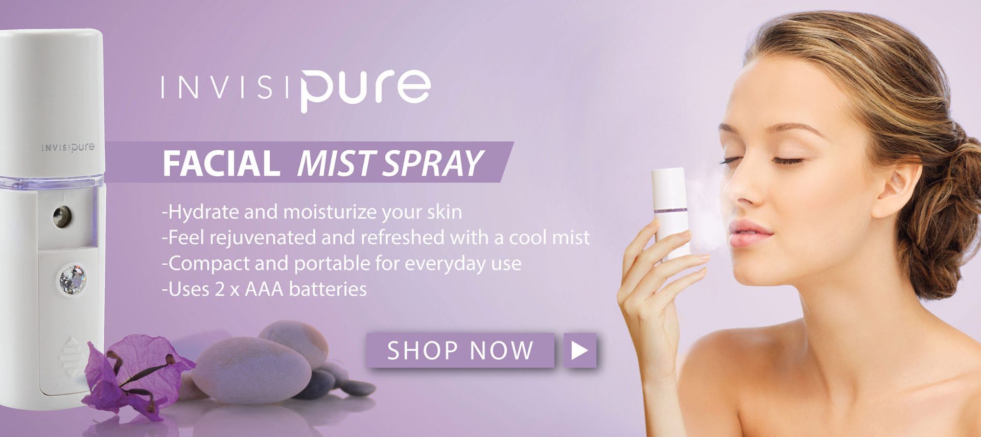 InvisiPure Facial Mist Spray